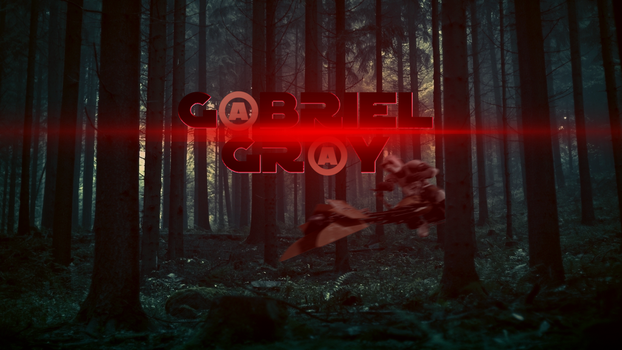 G@BRIEL GR@Y Banner RED Shift by GBRIELGRY