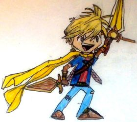 Steel, from Golden Sun by RockUtsugi