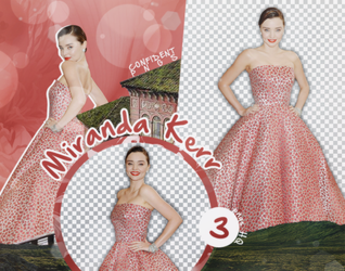 Png Pack 1125 // Miranda Kerr by confidentpngs