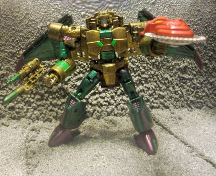GENERATIONS G.I.JOE COBRA B.A.T.  SERPENTOR by GRIMLOCKPRIME108