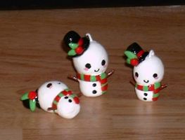 Snowman Charms by Ayotunde