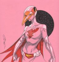 Princess from Battle of the Planets by Hodges-Art