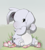 Shy Nidorina by HappyCrumble