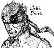 Metal Gear Solid - Solid Snake by RikiyaGyoza