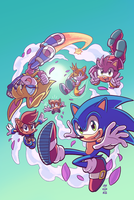 Sonic #279 Variant (Spring Re-Color) by Ziggyfin