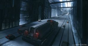 Dome City : Central Pass by Ishutani