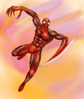 Spiderman - Carnage Mode by St-Alpha