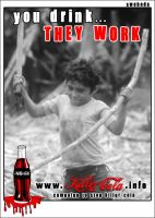 young slave - cola sticker by Swoboda