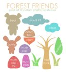 Forest Friends By Maytel by maytel