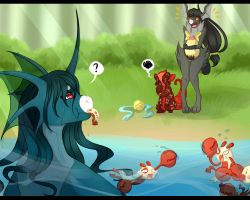 Bug Catching Contest - Delicious Bugs by RandomComicSheet