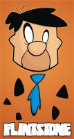 Heads Up Fred Flintstone by HeadsUpStudios