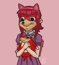 Ugandan Queen Annie by PtatoPi3