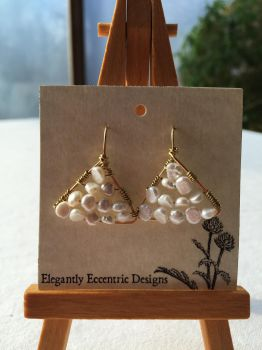 Pompeiian Pearl Earrings by ElegantlyEccentric