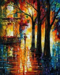 Suppressed Memories by Leonid Afremov by Leonidafremov