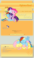 MLP Journal skin by DBluver