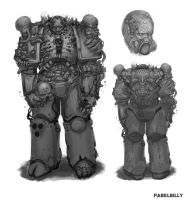 plague marine concept by PabelBilly
