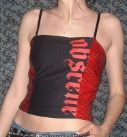 Obscene Corset Top by crafterbynite