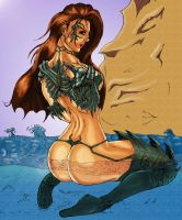 The Witchblade Beckons by MDVillarreal