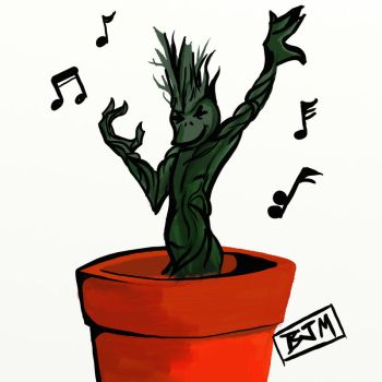 Baby Groot by thehaloequation