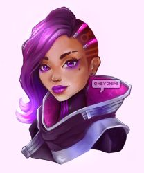 Sombra OW portrait by Dream-Sight