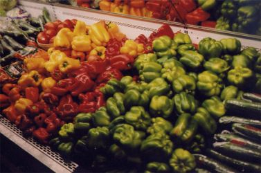 Peppers by johnnyelectric