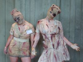 Silent Hill Nurse's 2 by SeattleFreeze