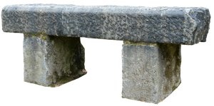 Stone bench 01 png by gd08