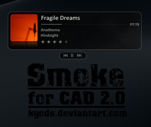 Smoke for CAD 2.0 by kyods by WinampSkinners