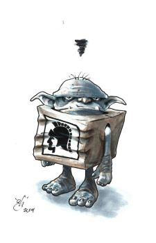 The Boxtroll no one talks about... by gph-artist
