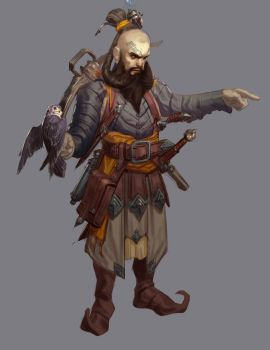 Dwarven adventurer by Carlo-Arellano