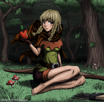 Elf - Dragon's Crown by Thecoldtrojan