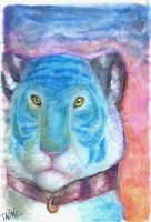 The Blue Tiger by taina-r