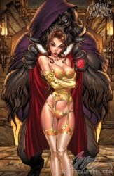 Beauty and the BEAST 2010 by J-Scott-Campbell