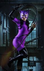 When she is bad, she is very very bad [Catwoman] by FaerieBlossom