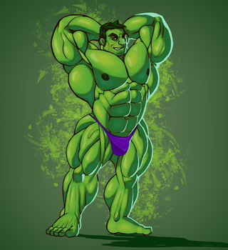 Hulk flex! by sharlin