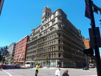 The Powers building by Android-shooter