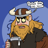 Theme Challenge - Viking by hrfarrington