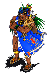 Tlatoani Tezozomoc, the king of Azcapotzalco by nosuku-k