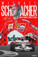 Michael Schumacher by riikardo