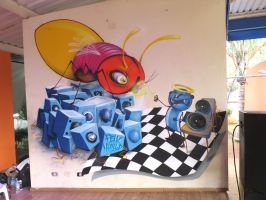 insect bboy by feik-graffiti