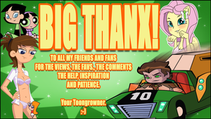 BIG THANX TO YOU by toongrowner