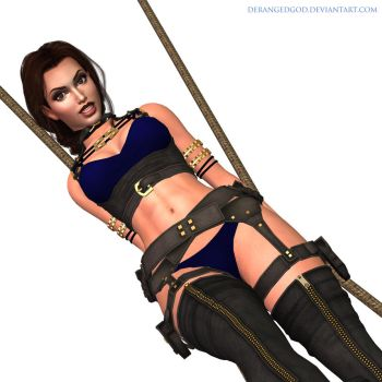 Tomb Raider-I tied you up...(2) by DerangedGod