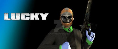 PD2: Lucky by JVanover