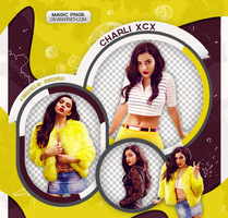 PACK PNG 579| CHARLI XCX by MAGIC-PNGS