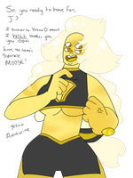 Yellow aventurine [FUSION] by ShiroShototsu
