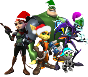 The Gang of Ratchet and Clank by Ratchetfan2006
