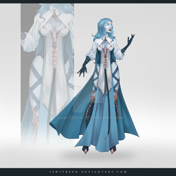 (CLOSED) Adoptable Outfit Auction 318 by JawitReen