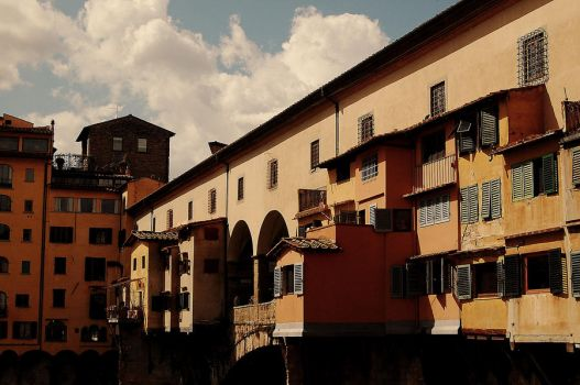ponte vecchio by gardeenofdreams