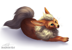 Eevee Week - Flareon by Imaginary-Rat