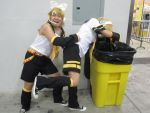 Recycling Len! by writingpikachu